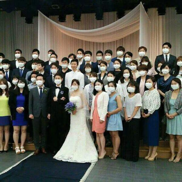 Современная корейская свадьба